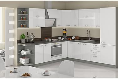 Keittiökalustepaketti Bianco