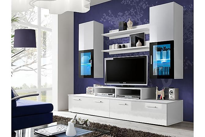 Mini Olohuoneen kalustepaketti 200x45x190 cm - Huonekalut - TV- & Mediakalusteet - TV-kalustepaketti