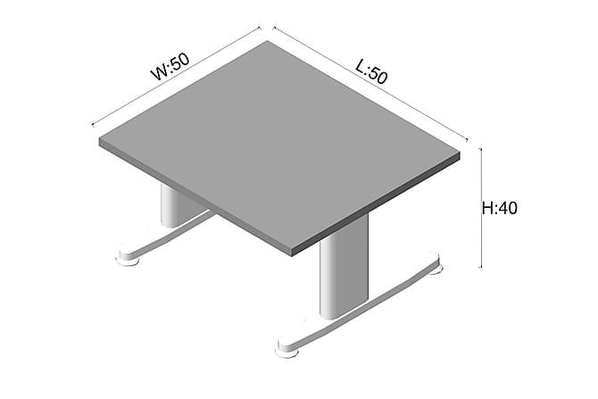 Toimistokalustepaketti Wiand 140 cm - Tammi/Harmaa - Huonekalut - Kalustesetit - Toimistokalustekokonaisuus