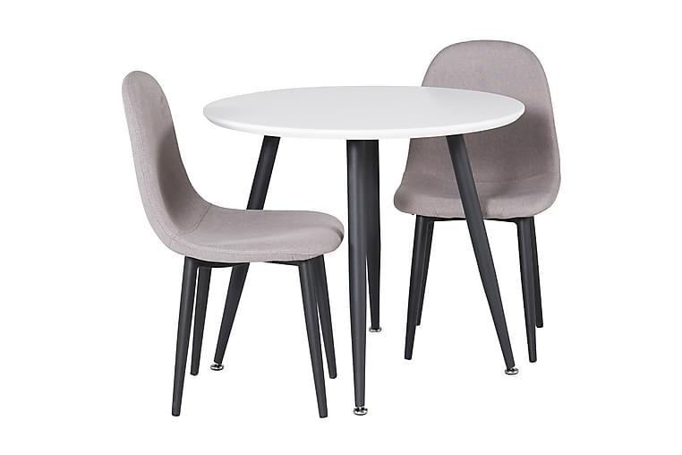 Carltone Ruokailuryhmä Lasten 60 cm Pyöreä 2 Domvik tuolia - Huonekalut - Lasten kalusteet - Lasten pöydät