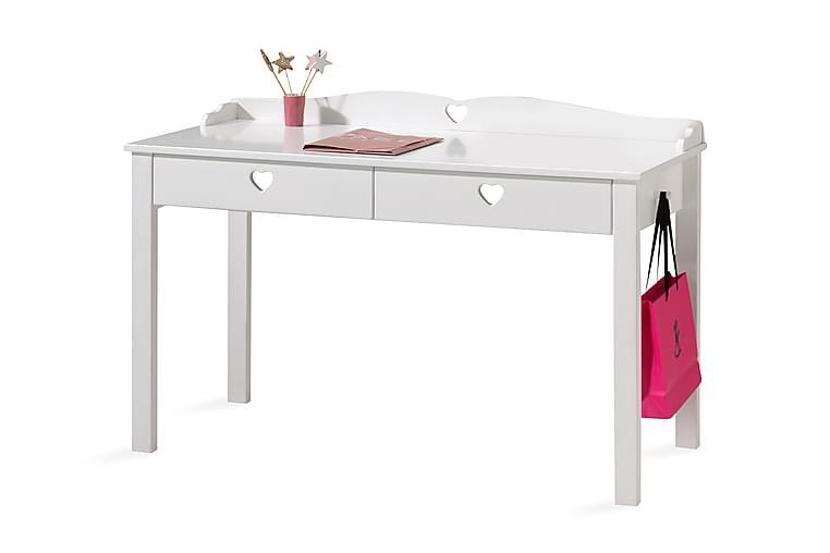 Kirjoituspöytä Hokeby - Valkoinen - Huonekalut - Lasten kalusteet - Lasten pöydät
