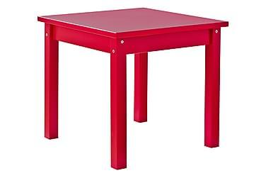 Lastenpöytä Mads 50 cm Punainen
