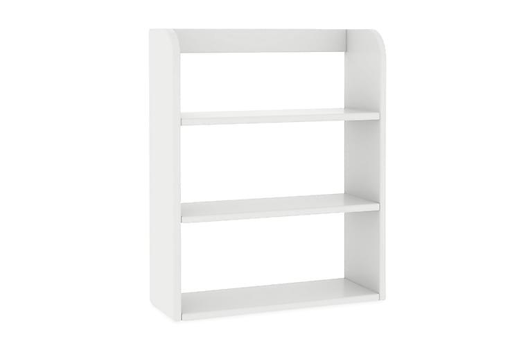 Hylly Junnu Play - Valkoinen 60x75x22 - Sisustustuotteet - Lastenhuoneen sisustus - Lastenhuonesäilytys