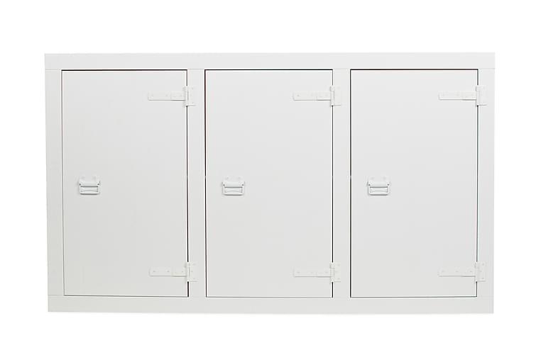 Säilytyskaappi Vibiana 177x102 cm - Valkoinen mänty - Sisustustuotteet - Lastenhuoneen sisustus - Lastenhuonesäilytys