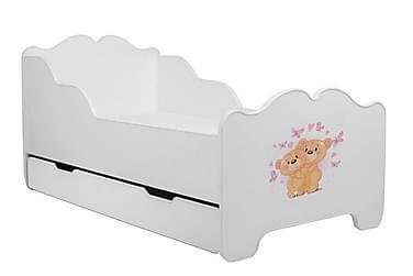 Lastensänky Anna Bears + laatikko 140x70 cm