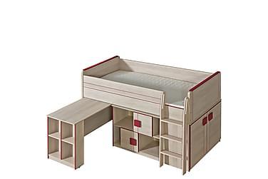 Lastensänky Gumi 208x131x104 cm
