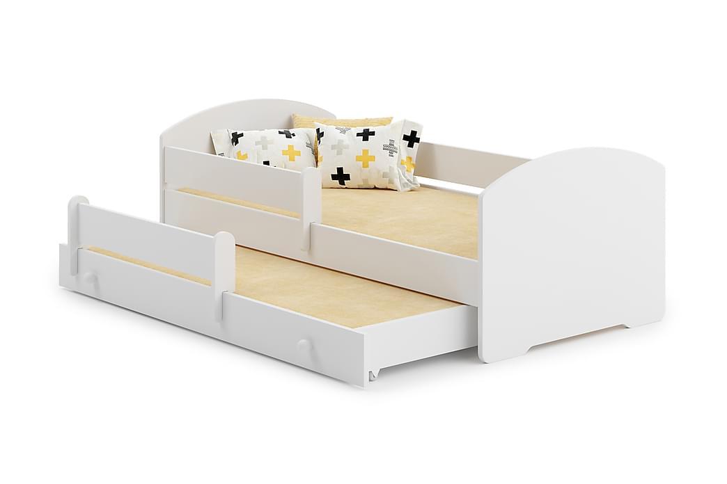 Lastensänky Randell 80x160 - Valkoinen - Huonekalut - Lasten kalusteet - Lastensängyt & juniorisängyt