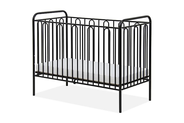 Pinnasänky Caronium - Musta - Huonekalut - Lasten kalusteet - Lastensängyt & juniorisängyt