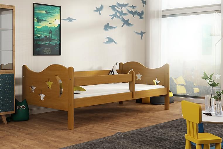 Sänky Lourdy 80x140 - Tammi - Huonekalut - Lasten kalusteet - Lastensängyt & juniorisängyt