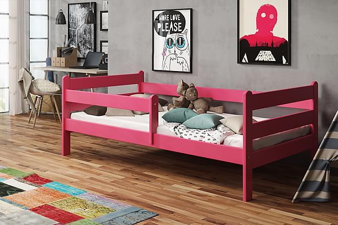Sänky Lupin 80x160 - Punainen - Huonekalut - Sängyt - Runkopatjasängyt