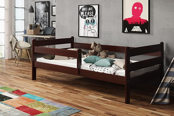 Sänky Lupin 80x180 - Pähkinä - Huonekalut - Sängyt - Runkopatjasängyt