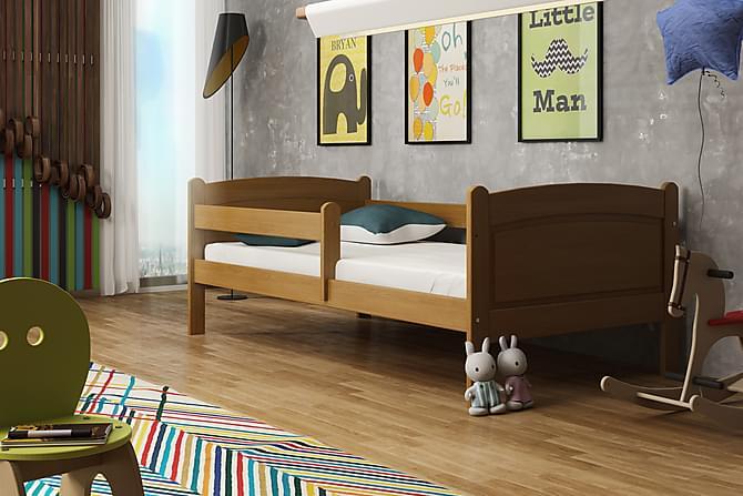 Sänky Nomark 80x160 - Tammi - Huonekalut - Sängyt - Runkopatjasängyt