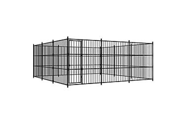 Koiran ulkohäkki 450x450x185 cm