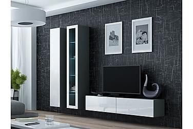 TV-kalustepaketti Vigo 220x40x180 cm