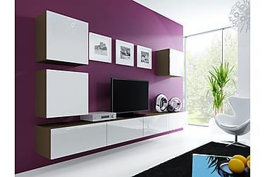 TV-kalustepaketti Vigo 280x40x180 cm