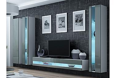 TV-kalustepaketti Vigo 300x40x180 cm