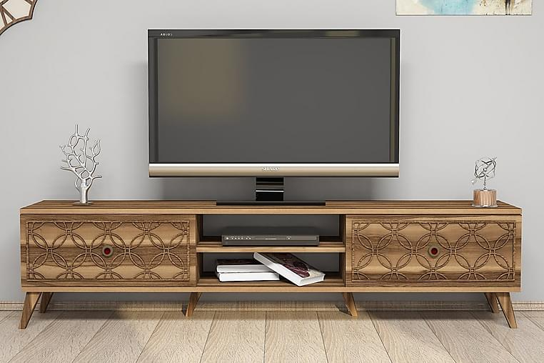 TV-taso Amtorp 180 cm - Ruskea - Huonekalut - TV- & Mediakalusteet - Tv-tasot & Mediatasot