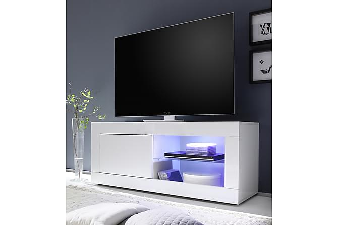 TV-taso Astal 140 cm - Valkoinen - Huonekalut - TV- & Mediakalusteet - Tv-tasot & Mediatasot
