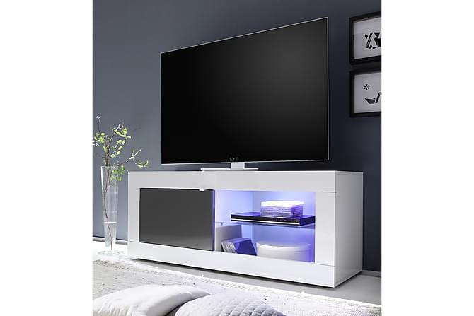 TV-taso Astal 140 cm - Valkoinen/Harmaa - Huonekalut - TV- & Mediakalusteet - Tv-tasot & Mediatasot
