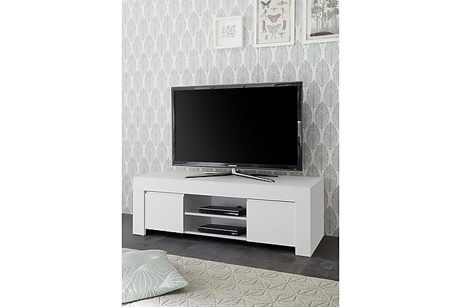 TV-taso Firenze 138 cm - Valkoinen - Huonekalut - TV- & Mediakalusteet - Tv-tasot & Mediatasot