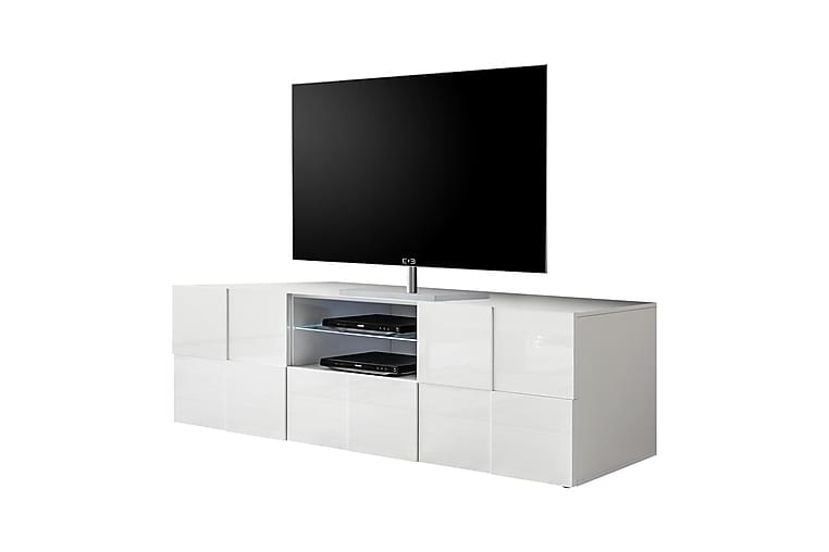 TV-taso Tabor 181 cm Suuri - Valkoinen - Huonekalut - TV- & Mediakalusteet - Tv-tasot & Mediatasot