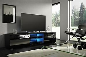TV-taso Terisa 140 cm LED-valaistus