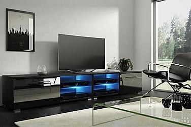 TV-taso Terisa 200 cm LED-valaistus