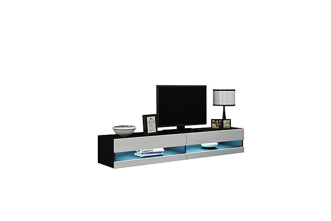 TV-taso Vigo 140x40x30 cm - Harmaa - Huonekalut - TV- & Mediakalusteet - Tv-tasot & Mediatasot