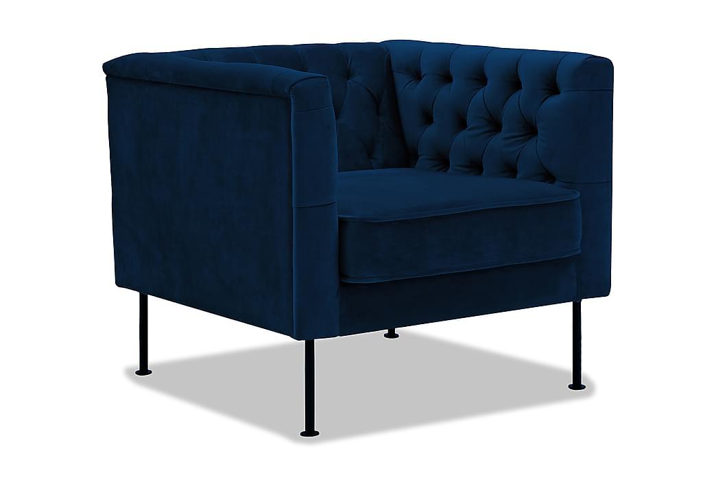 Nojatuoli Yasso - Sininen - Huonekalut - Nojatuolit & rahit - Howard-nojatuolit