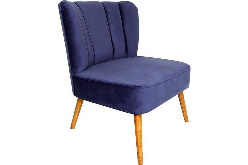 Nojatuoli Aneek Käsinojilla - Sininen - Huonekalut - Nojatuolit & rahit - Nojatuolit & lepotuolit