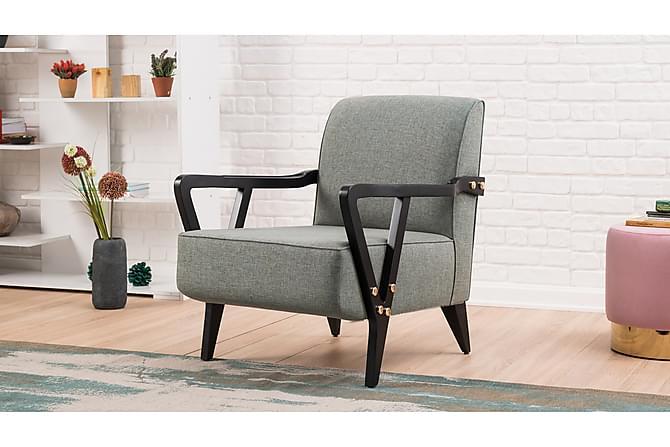 Nojatuoli Kuenne käsinojilla - Sininen - Huonekalut - Nojatuolit & rahit - Nojatuolit & lepotuolit