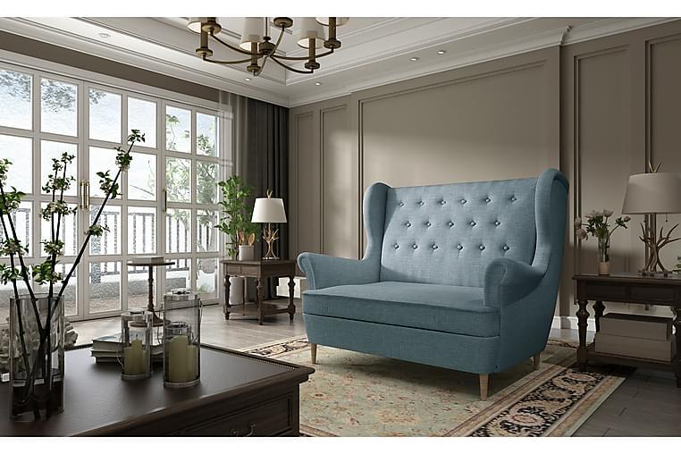Nojatuoli Mardelle käsinojilla - Sininen - Huonekalut - Nojatuolit & rahit - Nojatuolit & lepotuolit