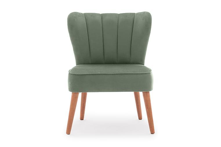 Nojatuoli Milinazzo käsinojilla - Vihreä - Huonekalut - Nojatuolit & rahit - Nojatuolit & lepotuolit