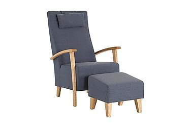 Nojatuoli + Rahi Henrico Sininen