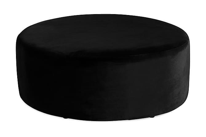 Istuinrahi Donella 100 cm Sametti - Musta - Huonekalut - Nojatuolit & rahit - Rahit