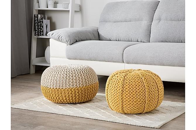 Istuinrahi Conrad 50 cm - Keltainen - Huonekalut - Nojatuolit & rahit - Säkkirahit