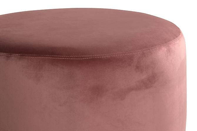 Istuinrahi Donella 65 cm Sametti - Ruosteroosa - Huonekalut - Nojatuolit & rahit - Säkkirahit