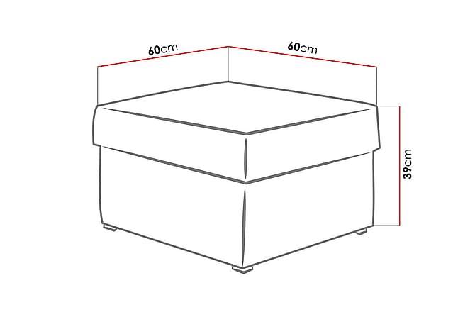 Mori Istuinrahi 60x60x39 cm - Huonekalut - Nojatuolit & rahit - Säkkirahit
