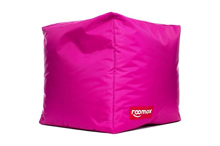 Roomox Cube Lounge Säkkirahi Vaaleanpunainen - Roomox - Sisustustuotteet - Pienet kalusteet - Säkkituolit