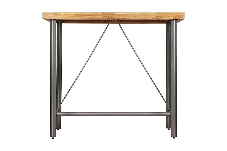 Baaripöytä kierrätetty tiikki 120x58x106 cm - Ruskea - Huonekalut - Pöydät - Baaripöydät & seisomapöydät