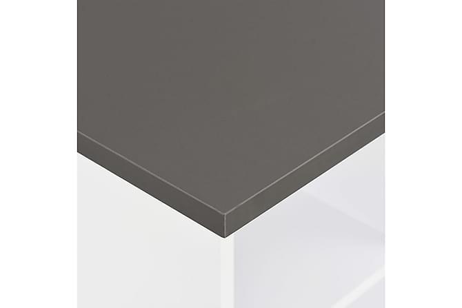 Baaripöytä valkoinen 60x60x110 cm - Valkoinen - Huonekalut - Pöydät - Baaripöydät & seisomapöydät