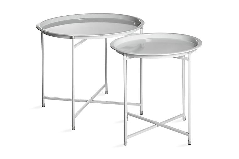 Pyöreä Pöytä 2-P Valkoinen - Mogihome - Huonekalut - Pöydät - Eteisen pöydät & apupöydät