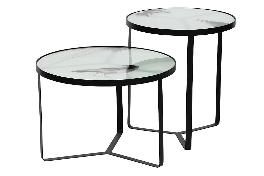 SidorPöytä Jenis 45x50 cm - Musta - Huonekalut - Pöydät - Eteisen pöydät & apupöydät