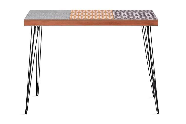 Sivupöytä 90x30x71,5 cm Ruskea - Ruskea - Huonekalut - Pöydät - Eteisen pöydät & apupöydät