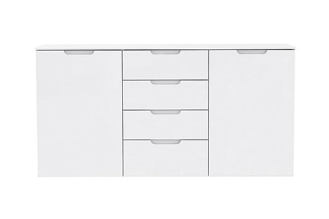 Sivupöytä Gullet 165 cm - Valkoinen - Huonekalut - Pöydät - Eteisen pöydät & apupöydät