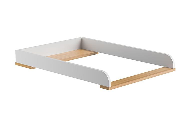 Yläosa Hoitopöytä Mitra Valkoinen/Puu/Luonnonväri - VOX - Huonekalut - Pöydät - Hoitopöydät