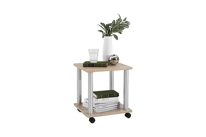 Rullapöytä Loire 40 cm - Tammi - Huonekalut - Pöydät - Lamppupöydät & sivupöydät