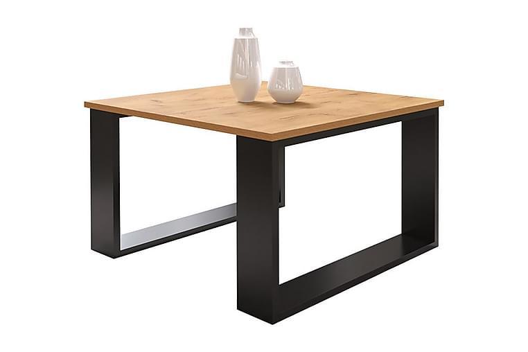 Sivupöytä 65 cm - Luonnonväri/Musta - Sisustustuotteet - Pienet kalusteet - Tarjotinpöydät & pienet pöydät