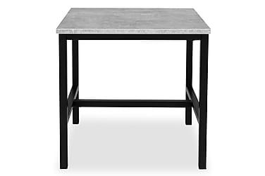 Sivupöytä Bettina Musta/Betoni