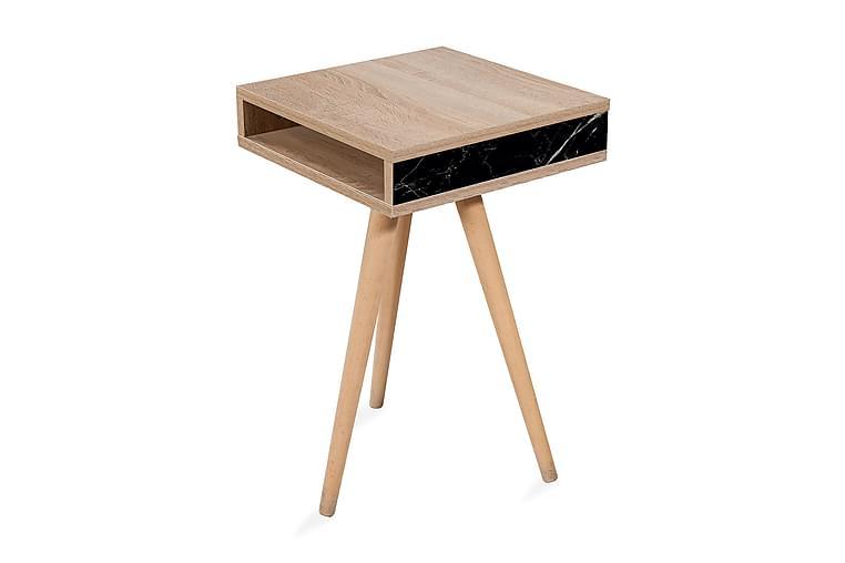 Sivupöytä Gillberga 40 cm - Ruskea - Sisustustuotteet - Pienet kalusteet - Tarjotinpöydät & pienet pöydät